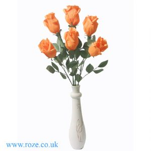 Chinese orange rose bouquet(DD008)